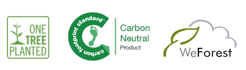 Cartbon Neutral Product - Support for One Tree Planted - Support for WeForest