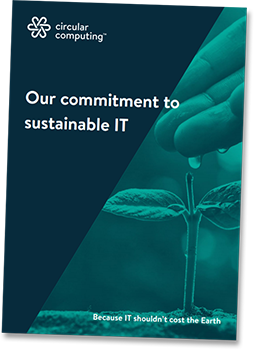 Our commitment to sustainable IT